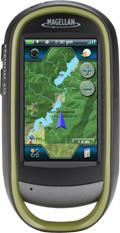eXplorist touch 610 v3.41 (microSD CARD) compatible Topo France, Littoral France pour Magellan, LeadMap Aviation, Mapsend Blue Nav XL3.