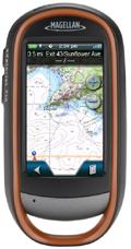 eXplorist touch 710 v5.93 (microSD CARD) compatible guidage routier, Topo France, Littoral France pour Magellan, LeadMap Aviation, Mapsend Blue Nav XL3.